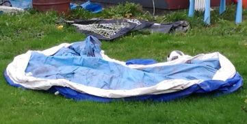Bestway pool som vill bli omhändertagen